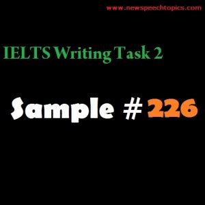Argument essay example ielts